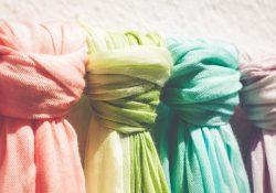 Matcha halsduk och jacka